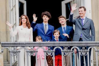 Prince Joachim of Denmark and Family