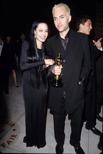 Angelina Jolie and Brother James Haven during 7th Annual Vanity Fair Oscar Party