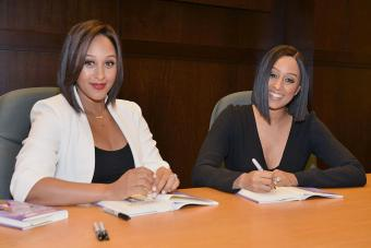Tia And Tamera Mowry Sign And Discuss Their New Book