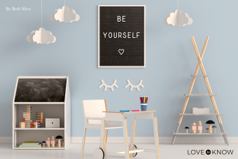 Be Yourself in Letter Board