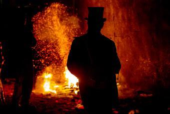 Bonfire night celebrations