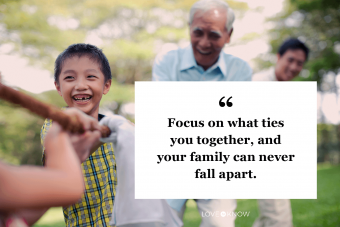 Quote About How to Keep Family Together