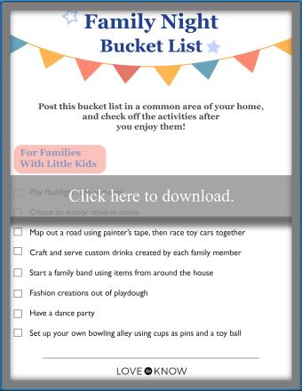 Family reunion planning checklist