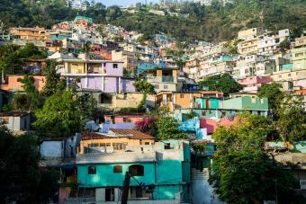 One of Haiti's biggest shantytowns