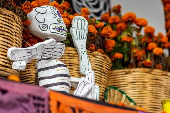 A Day of the Dead in Mexico