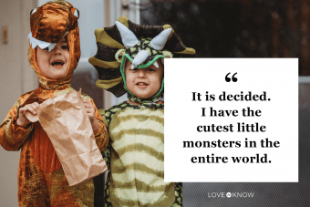 Cute Halloween quote for your little monsters