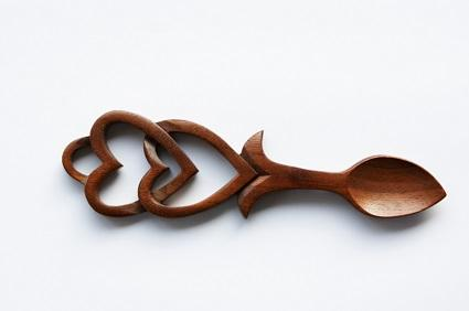 Welsh love spoon