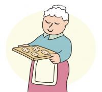Grandma With Cookies