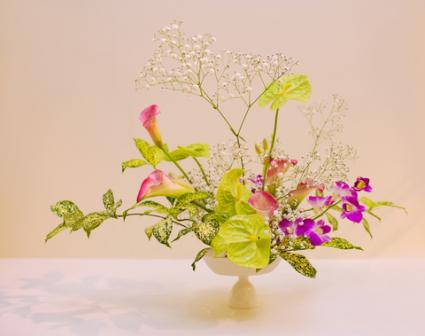 Ikebana arrangement; © Marina Dementeva | Dreamstime.com