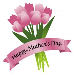 Mother's Day Floral Bouquet Clip Art