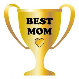 Best Mom Trophy Clip Art
