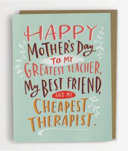 Cheapest Therapist Mother's Day Card by Emily McDowell Studio