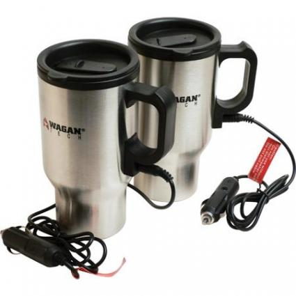 Wagan 12V Heated Travel Mug