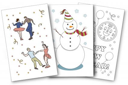 New Year's Card Designs