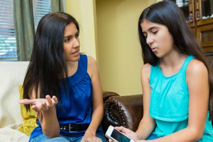 Stepmom attempting to connect with stepdaughter