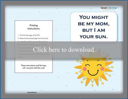 Son/sun card