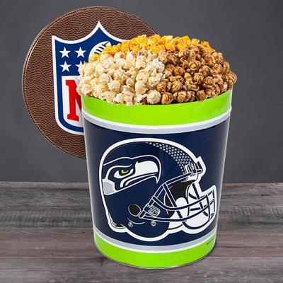 Sports Team Popcorn Tin