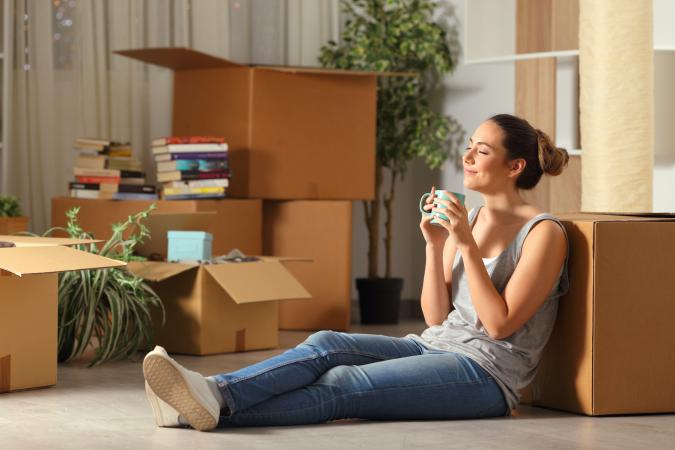Moving to a home by ourself