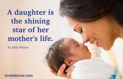 Quote for Newborn Baby Girl from Her Mother