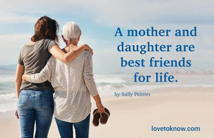 Quote for Mother and Adult Daughter