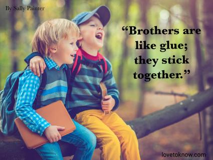 Funny Brother Quote