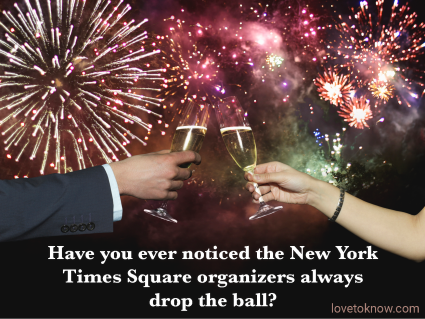 New Years Dad Jokes and the Times Square Ball Drop