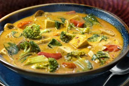 Tofu Curry with Vegetables