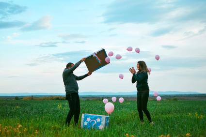 Balloon gender revelation