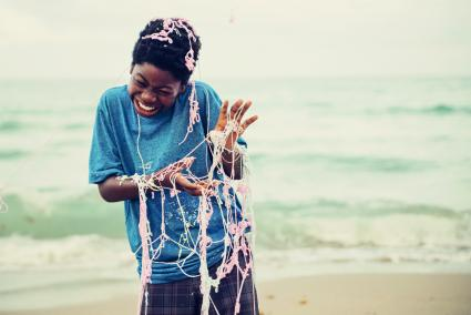 Fun time with silly string