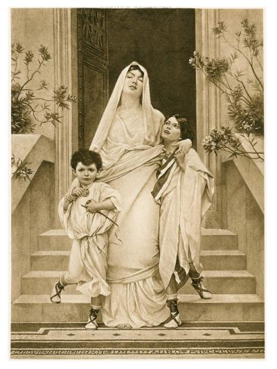 Cornelia, Mother of the Gracchi, with her Sons