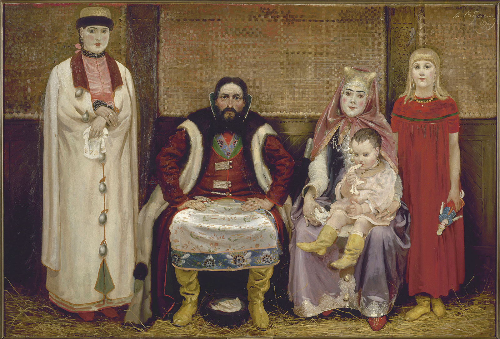 The rules of family life in Russia