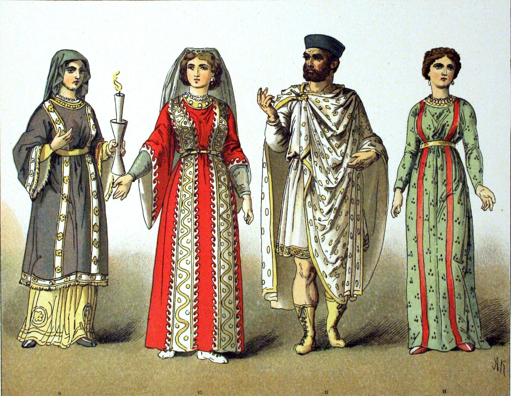 Europe and America: History of Dress (400-1900 C.E.)