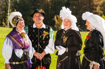 Eastern Europe Folk Dress