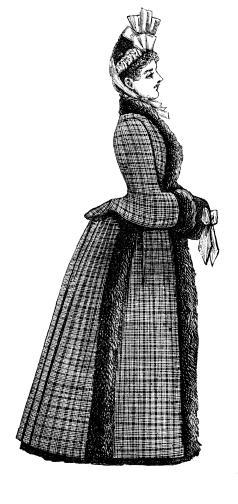 Victorian model fashion