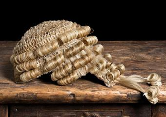 Barrister wig