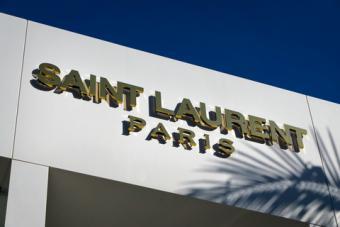 Yves Saint Laurent Store in Paris