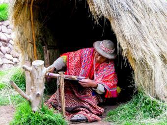 Traditional Inca textiles