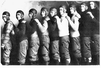 Football uniforms