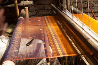 Jamdani weaving in Bangladesh