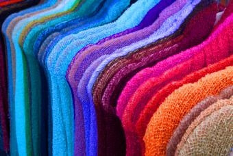 Multicolored knitted sweaters