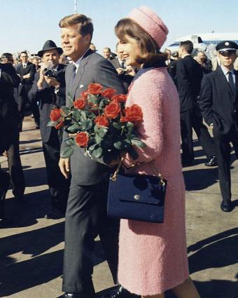 Jackie Kennedy wearing Chanel