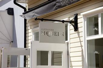 Alexander McQueen Signage