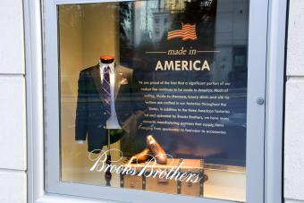 Brooks Brothers fashion store made in America