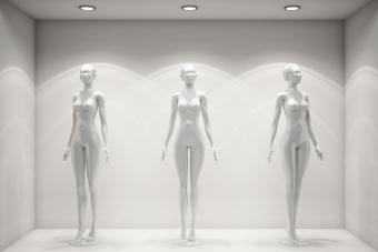 Artistic body mannequins