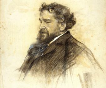 Portrait of Octave Uzanne by Ramon Casas