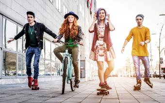 Teenage Fashion History