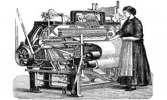 Power loom 1882