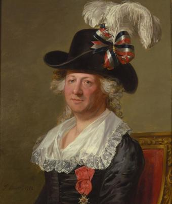 Portrait of Chevalier d'Eon by Thomas Stewart, 1792