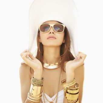Glitzy jewelry