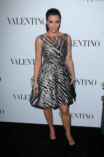 Valentino - Kim Kardashian